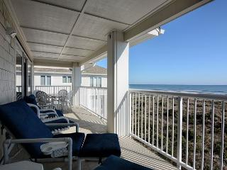 Wrightsville Dunes 3A-E - Oceanfront condo with community pool, tennis, beach
