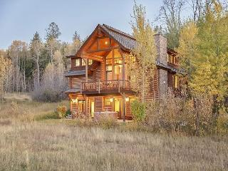 4 Bedroom, 4.5 Bath Log Cabin in Teton Springs - Sleeps 10, Víctor