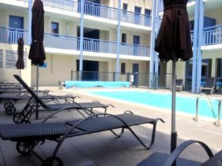Ravissant appartement 6 personnes, piscine et spa, Biscarrosse