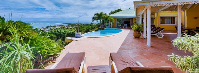 Villa Coccinelle 4 Bedroom (Located In Orient Bay, With A Gorgeous View Over