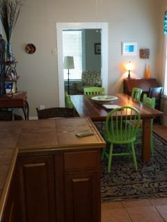New solid ceder dining table