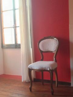 Camera Papavero, dettaglio