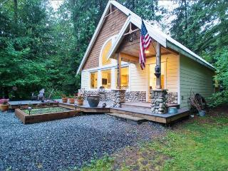 #01 Cabin near Mt. Baker with WiFi & Hot Tub!, Glacier