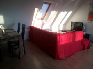 3-Zimmer Dachgeschoßwohnung zentral, Augsburg
