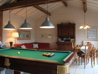 Main House dinning/living room where breakfast and dinner may be served
