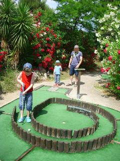 Mini golf Mandelieu