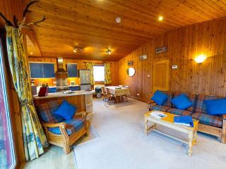 Stunning 5* Lodge near Crianlarich- The Raven