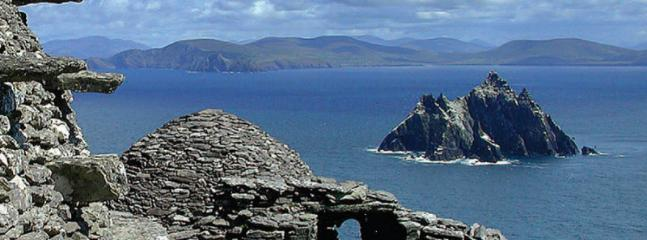 View of Skellig Rocks near Dingle