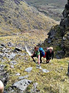 Hiking is very popular in our Kerry mountains