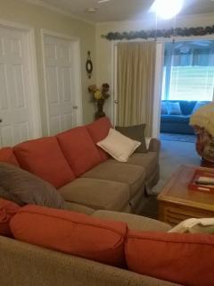 Living room to sunroom