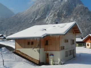 Apartment in ski resort next to nature reserve, Sixt-Fer-a-Cheval