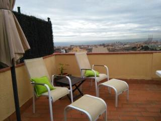 House 7p sea view next to Barcelona, 2 car parking, Badalona