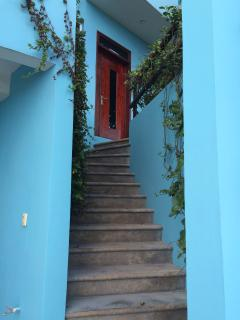 Welcome to Casa Cielo. Entrance from street.