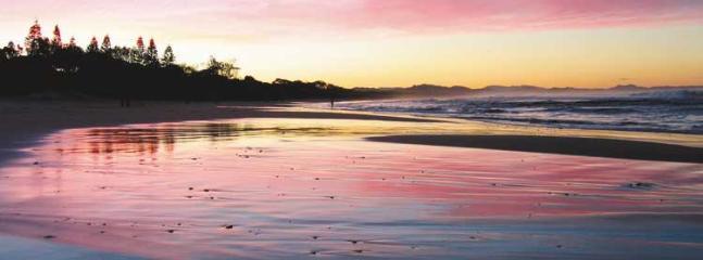Evening sunset strolls on the beach..... perfect