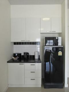 Kitchenette with Fridge, Microwave