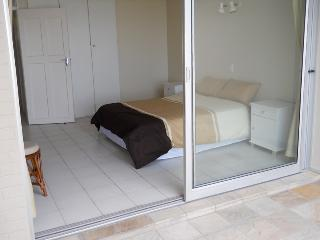 View of main bedroom from balcony