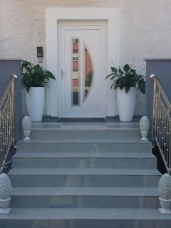 The Entrance of the house, every apartment has his own entrance!