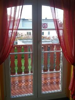 Zugang zum Balkon
