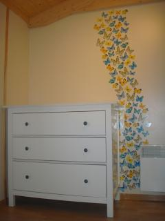 Decoration in the childrensbedroom