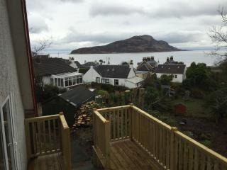 Isle of Arran house with sea views Lamlash