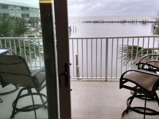 2BR/2BA Water Front with Boat Slip - Beach View