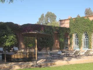 Villa Akhdar avec piscine, piste Jardin de Touhina, Marrakech