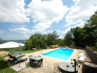 Secluded house with private pool near Florence