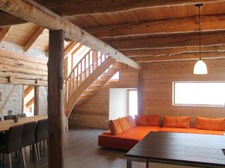 Chalet 10 places, sauna, Serre Chevalier, Cervieres