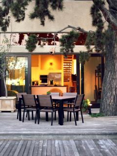 Just relax and enjoy this home with outdoor dining and spa