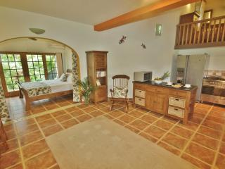 The beautiful Pool House is very well furnished and has quality appliances