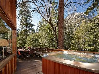 Perfect 'Lily Rock Lodge' With Amazing Views spa and pool table, Idyllwild