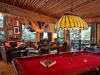 Perfect game of pool with custom Lily Rock Lodge balls awaits yo