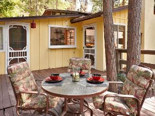 Charming Cabin, perfect couples getaway w/Spa,Large fireplace, walk to town, Idyllwild