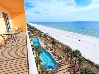 Calypso 1-609 East-2BR-6thFL-*10%OFF Apr1-May26*BeachFront with Beach SVC-across fr Pier Park, Panama City Beach