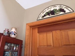 Spice Cabinet & Door to Laundry Room