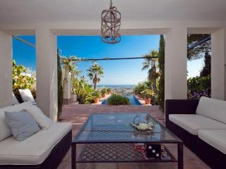 Andalusian villa with endless pool, Estepona