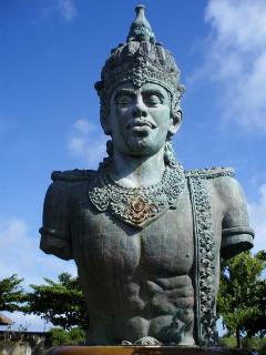 At Bali's cultural GWK centre 5 mins from the villa