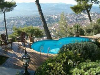 180°  Sea View, Lovely Stone Villa & Pool, Grasse