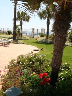 Security Gate leading to Beach Promenade