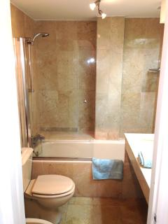 Downstairs - family bathroom