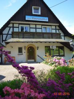 Eingang Haus Panoramablick