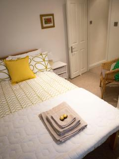 Bijou second bedroom with small double bed