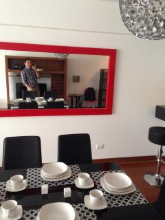 Dinning room...and me in the mirror! :P