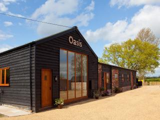 Oasis Barn, Suffolk. Four barns in one building, Halesworth