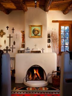 Dining / Sunken Room Fireplace
