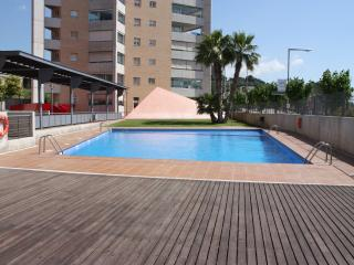 Apartment in Montgat Barcelona with swimming pool