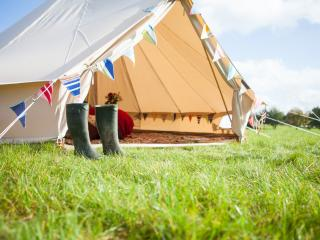 2posh2pitch Glamping holidays in North Norfolk