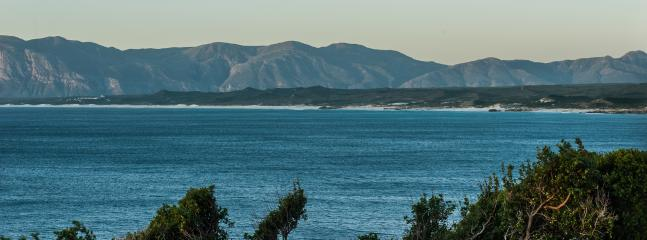 View of the Overberg from the balcony