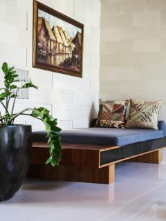Day Bed in Lounge area