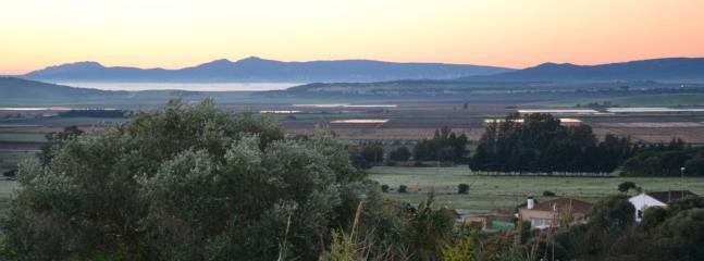 vue de la terrasse Casa Miralrio